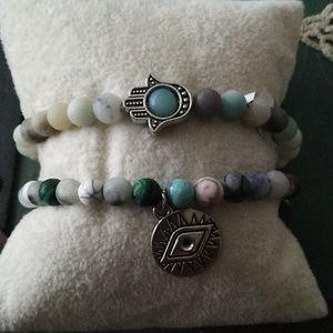 Jewelry - NWT Natural Stone Bracelets